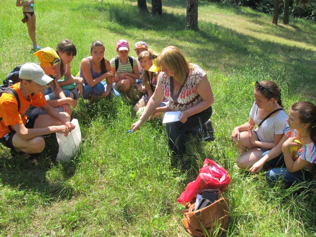 детская экологическая экспедиция в Тростянецком районе