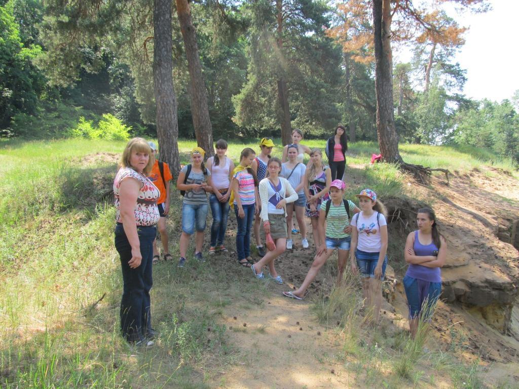экологическая детская экспедиция в тростянецком районе Сумщины